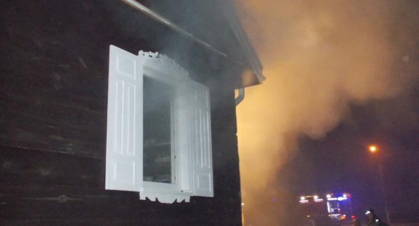 Pożary, Pożar Ciechanowem (zdjęcia) - zdjęcie, fotografia