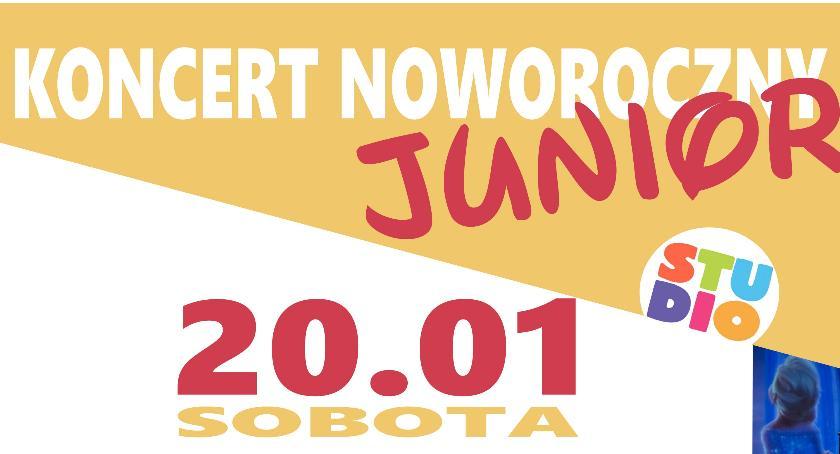 Koncerty, Koncert Noworoczny Junior Ciechanowie - zdjęcie, fotografia