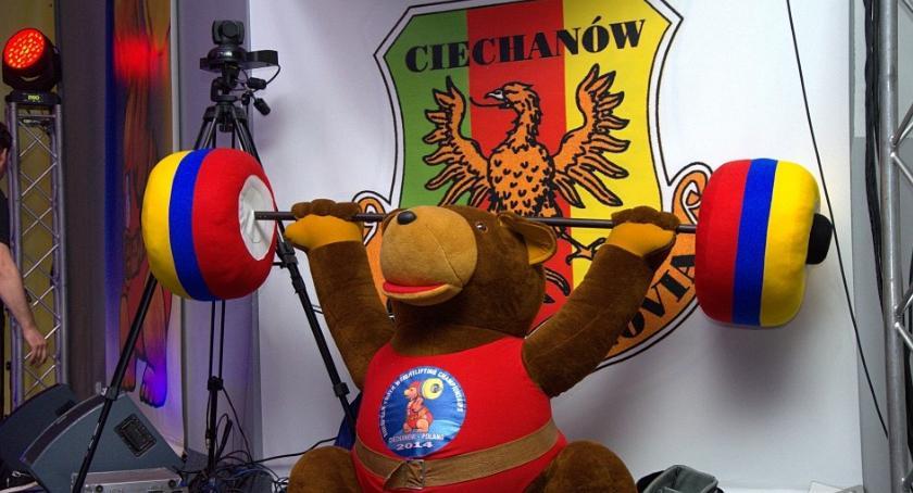 Podnoszenie Ciężarów, Ciechanów walczy organizację mistrzostw Polski - zdjęcie, fotografia