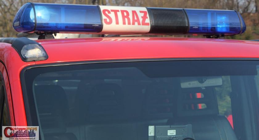 Pozostałe Interwencje, Strażacy Ciechanowa ratowali druhowie Glinojecka - zdjęcie, fotografia