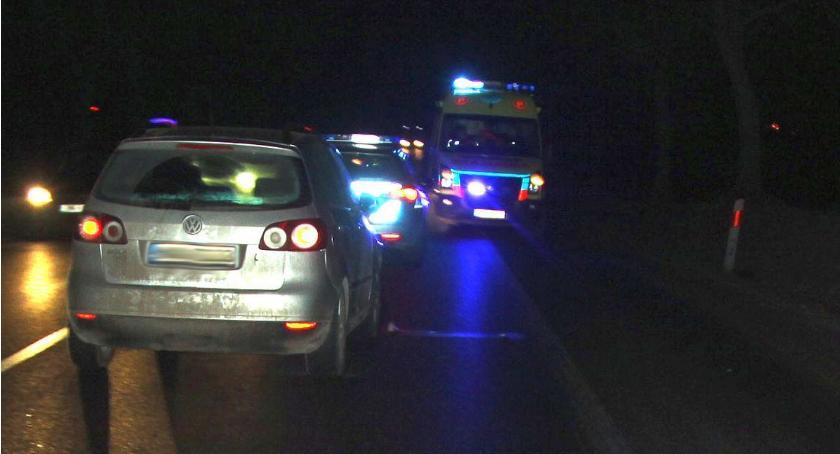 Wypadki drogowe, latek zginął kołami Golfa (zdjęcia) - zdjęcie, fotografia