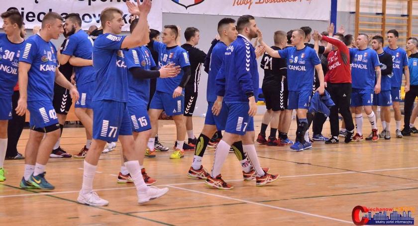 Piłka Ręczna, Awans coraz bliżej Jurand wygrał Ostrołęce - zdjęcie, fotografia