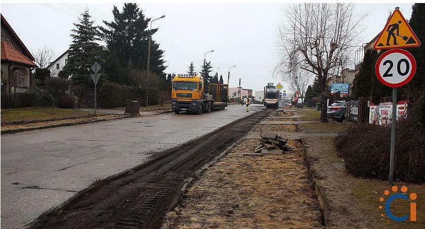 Inwestycje, Ciechanowie ruszyła jedna największych tegorocznych inwestycji drogowych [zdjęcia] - zdjęcie, fotografia