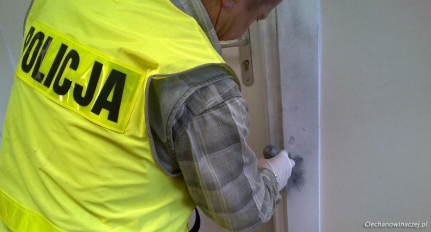 Sprawy kryminale , Kolejne włamania domów Ciechanowie okolicach Policja ostrzega - zdjęcie, fotografia
