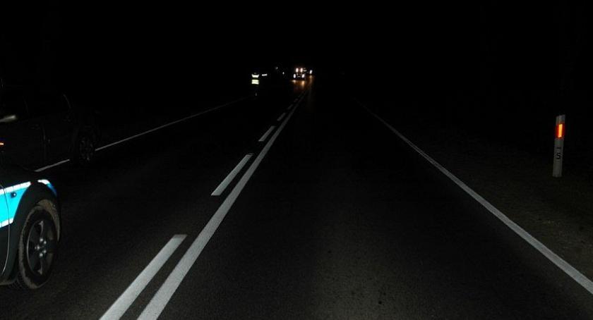 Wypadki drogowe, Kierująca potrąciła letniego pieszego - zdjęcie, fotografia
