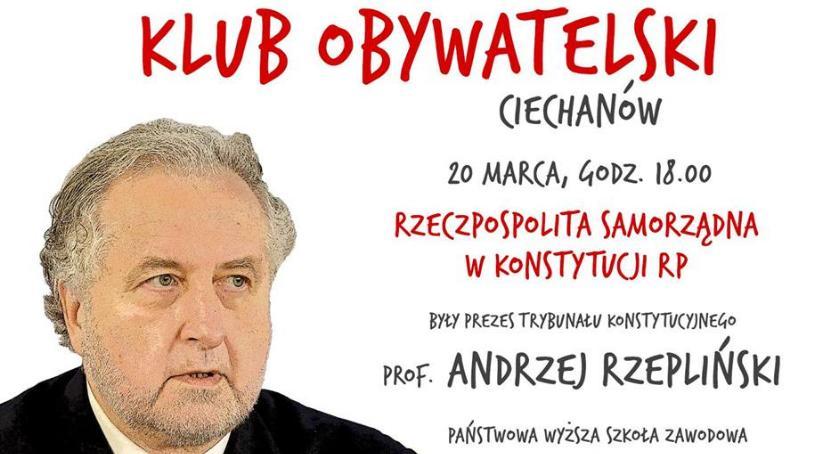 Społeczeństwo, Ciechanowie odbędzie spotkanie Andrzejem Rzeplińskim - zdjęcie, fotografia