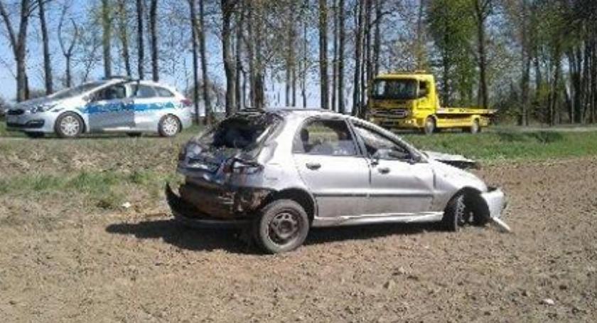 Wypadki drogowe, [AKTUALIZACJA] Wypadek Przążewie Ciechanowem - zdjęcie, fotografia