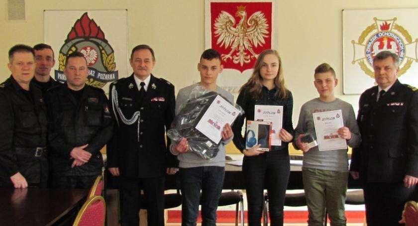 Działania Strażaków, Uczniowie ciechanowskiego wzięli udział Turnieju Wiedzy Pożarniczej [zdjęcia] - zdjęcie, fotografia
