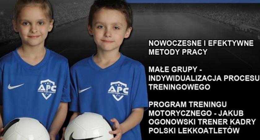 Piłka Nożna, Akademia Piłkarska Ciechanów wystartowała - zdjęcie, fotografia