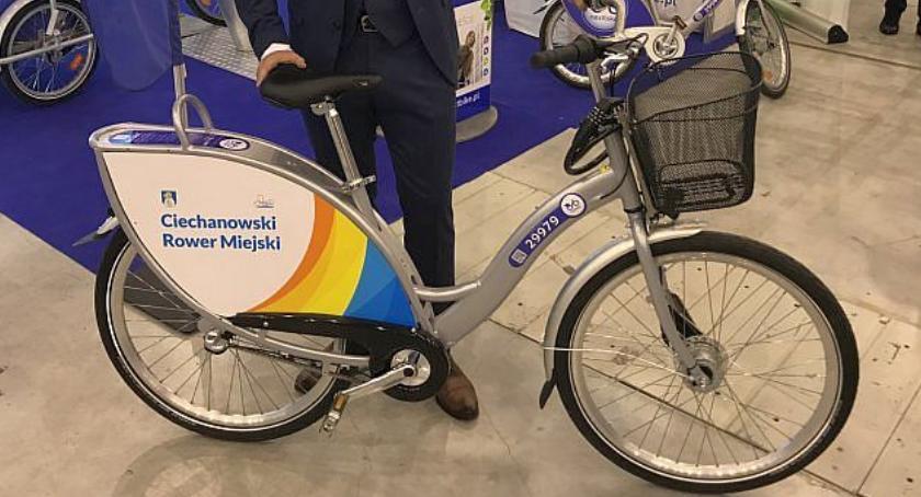 Inwestycje, połowie sierpnia Ciechanowie ruszy pilotaż rowerów miejskich - zdjęcie, fotografia