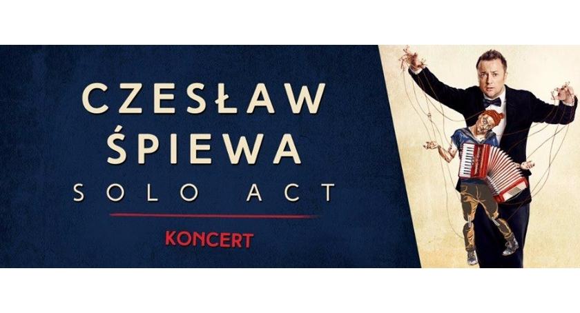 Koncerty, Czesław Śpiewa koncert Czesława Mozila Ciechanowie - zdjęcie, fotografia