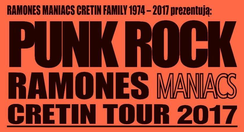Koncerty, Ramones Maniacs Cretin Ciechanowie - zdjęcie, fotografia