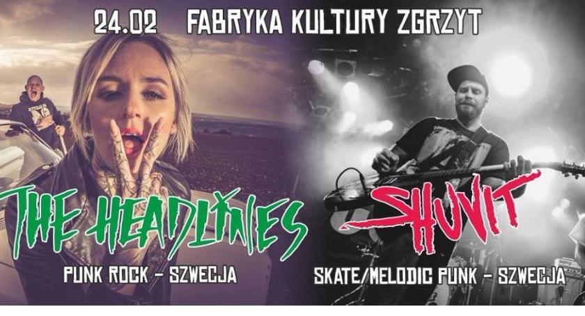 Koncerty, Headlines Shuvit Szwecji Zgrzycie - zdjęcie, fotografia