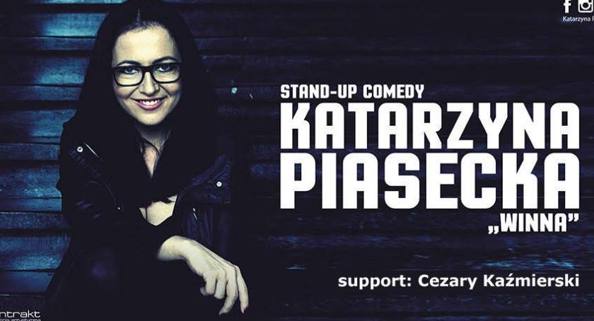 Inne Wydarzenia, Katarzyna Piasecka Cezary Kaźmierski gośćmi kolejnego wieczoru Fabryką Komedii Zgrzycie - zdjęcie, fotografia