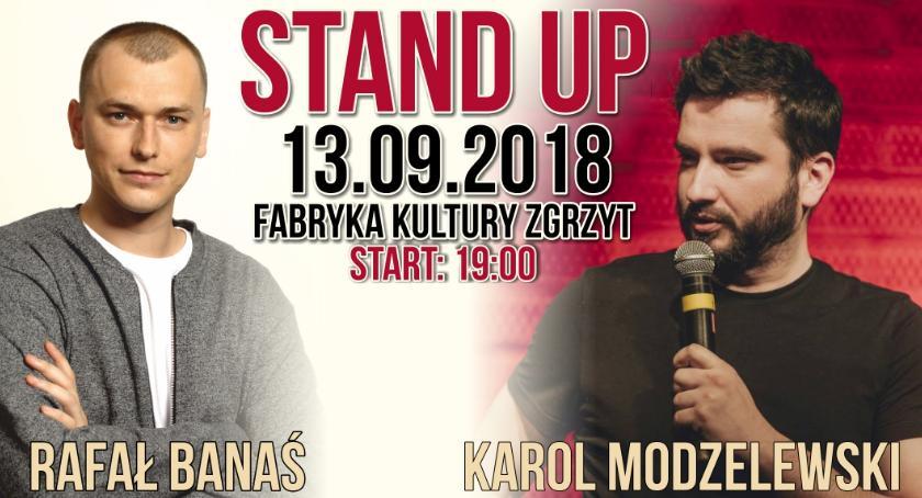 Inne Wydarzenia, Fabryka Komedii Ciechanowie Stand Karol Modzelewski Rafał Banaś - zdjęcie, fotografia