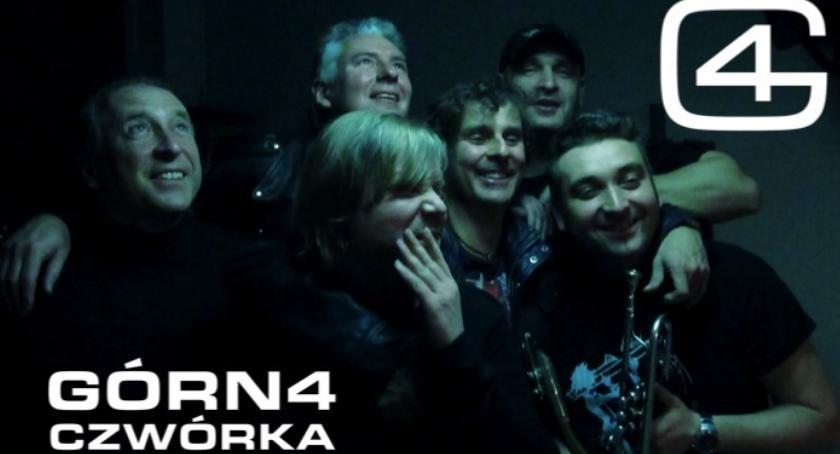 Koncerty, Otwarta Scena Zgrzycie koncert zespołów Górna Czwórka session - zdjęcie, fotografia