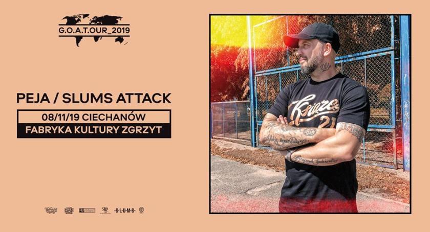 Koncerty, Peja/Slums Attack Zgrzycie - zdjęcie, fotografia