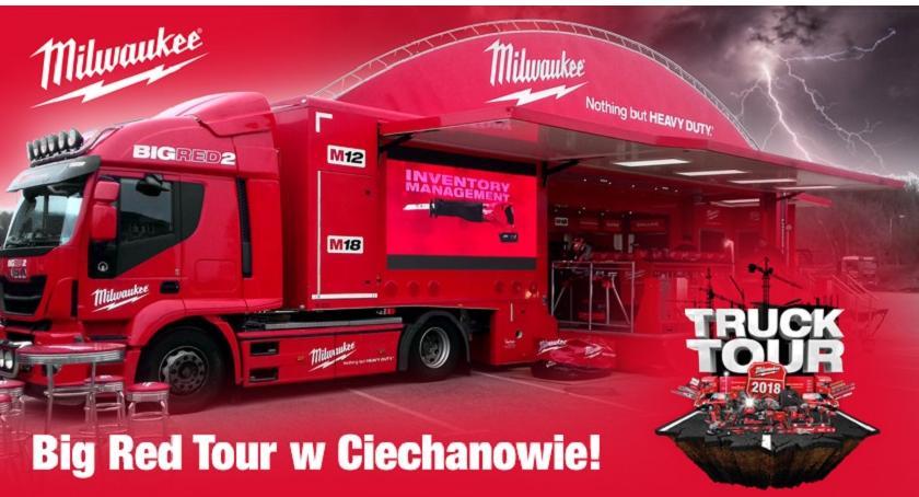 Społeczeństwo, dziś Milwaukee Ciechanowie Legendarna ciężarówka odwiedzi nasze miasto - zdjęcie, fotografia