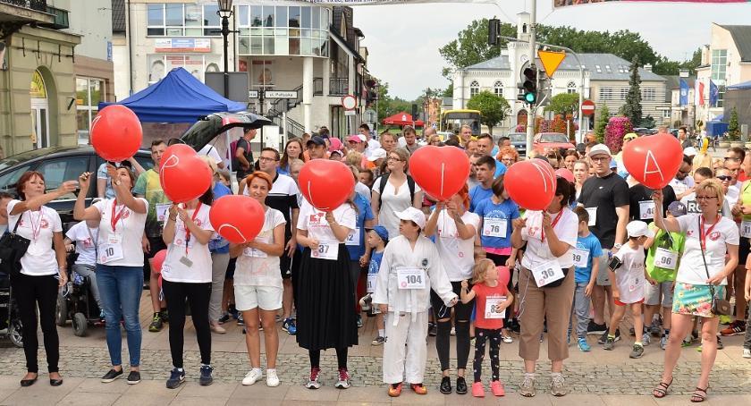 Społeczeństwo, Strefa Ciechanowski Przeciwko Białaczce czerwcu - zdjęcie, fotografia