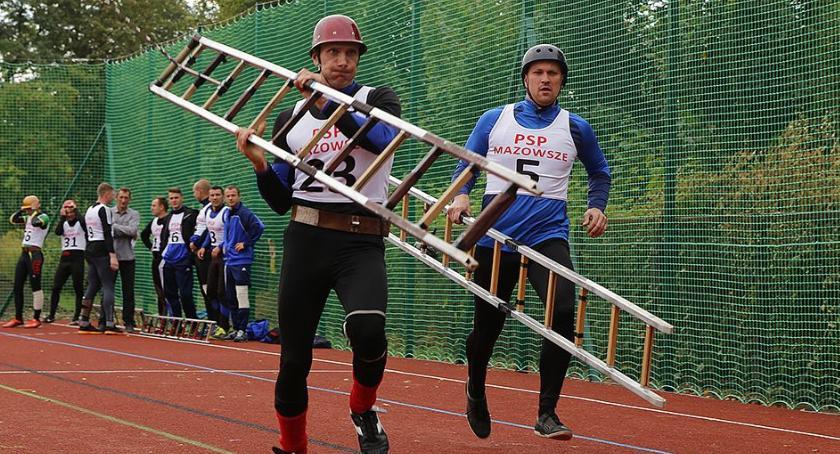 Zawody Strażackie, Ciechanowie odbędą zawody sporcie pożarniczym - zdjęcie, fotografia