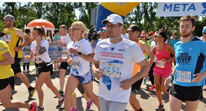 Bieganie, niedzielę pobiegną ulicami Ciechanowa - zdjęcie, fotografia