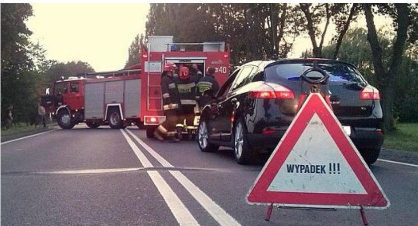 Wypadki drogowe, ostatniej chwili Karambol pięćdziesiątce utrudnienia ruchu - zdjęcie, fotografia