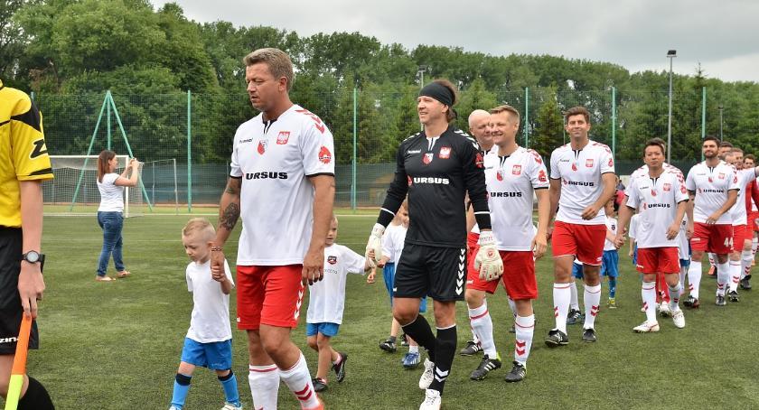 Piłka Nożna, Gwiazdami niedzielę Ciechanowie - zdjęcie, fotografia