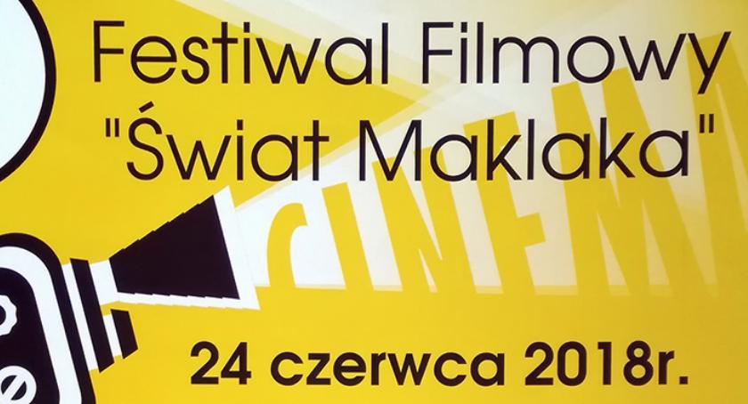 Kino, Świat Maklaka czyli festiwal filmowy Opinogórze [program] - zdjęcie, fotografia