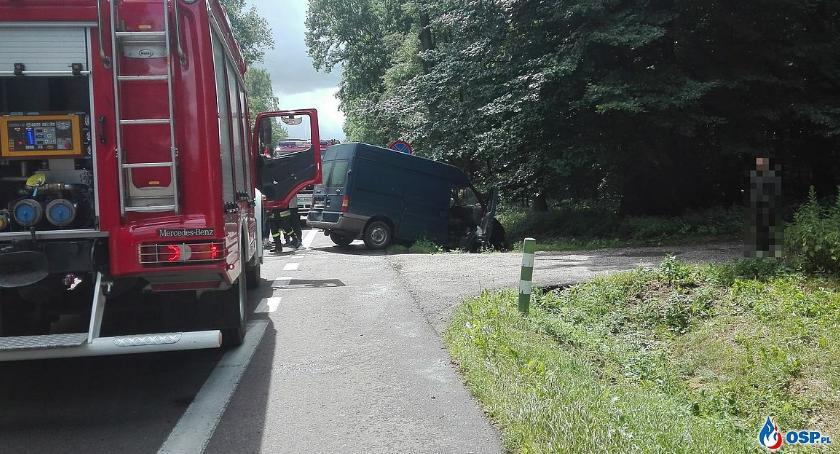 Wypadki drogowe, samochody zderzyły Glinojeckiem [zdjęcia] - zdjęcie, fotografia
