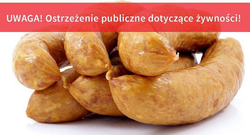 Zdrowie i Uroda, Kiełbasa wycofywana sprzedaży Wykryto groźną bakterię - zdjęcie, fotografia