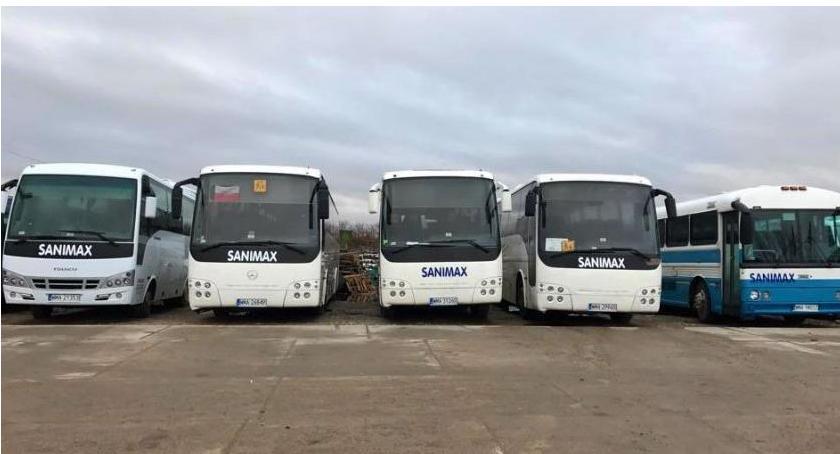 Komunikacja Publiczna, Rozkłady jazdy autobusów Sanimax - zdjęcie, fotografia