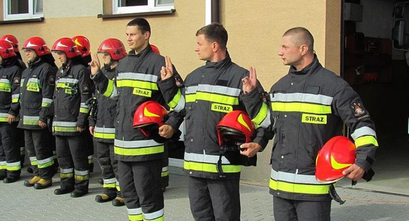 Działania Strażaków, strażacy Ciechanów Złożyli ślubowanie [zdjęcia] - zdjęcie, fotografia