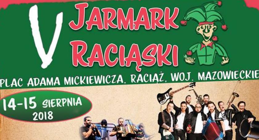 Inne Wydarzenia, Przed Jarmark Raciąski Gwiazdą zespół - zdjęcie, fotografia