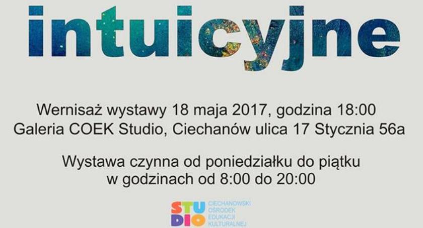 Wystawy, Malarstwo intuicyjne wernisaż STUDIO - zdjęcie, fotografia