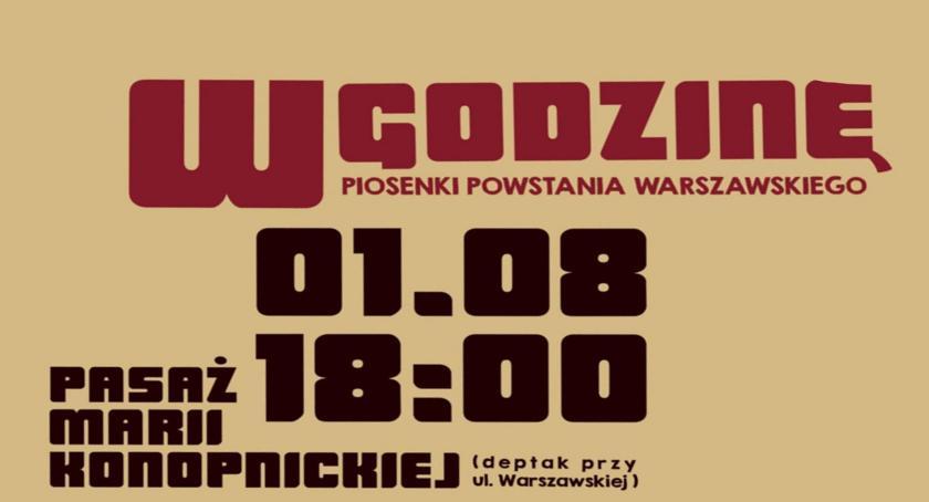 Koncerty, Koncert GODZINĘ dziś deptaku Marii Konopnickiej - zdjęcie, fotografia