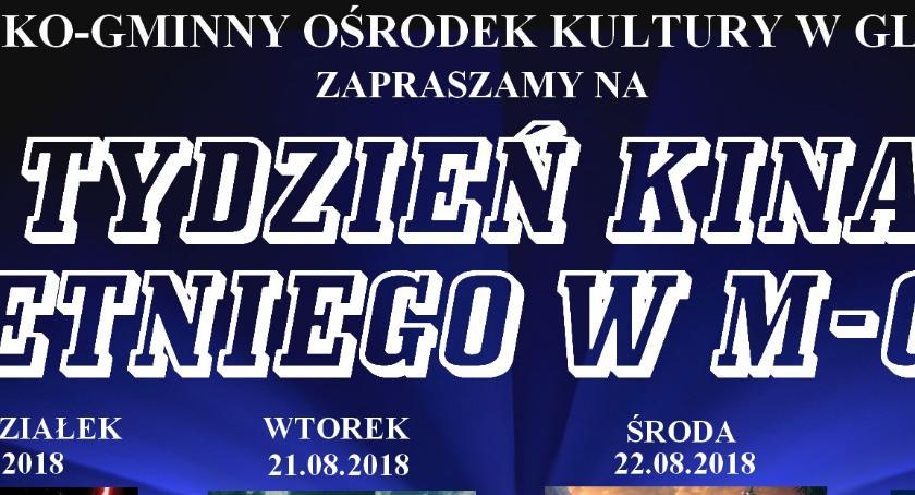 Kino, Tydzień kinem letnim Glinojecku - zdjęcie, fotografia