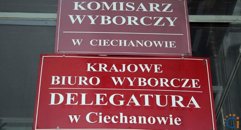 Wybory, wystawi kandydatów lista komitetów wyborczych ciechanowskim - zdjęcie, fotografia