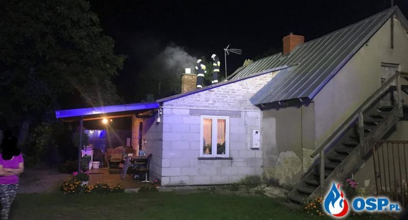 Pożary, Paliło Ciechanowie Glinojecku - zdjęcie, fotografia