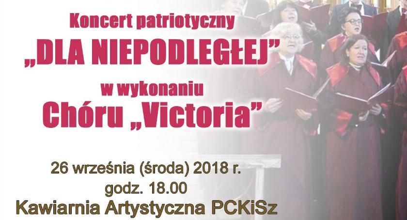 Koncerty, Koncert patriotyczny Niepodległej Ciechanowie - zdjęcie, fotografia