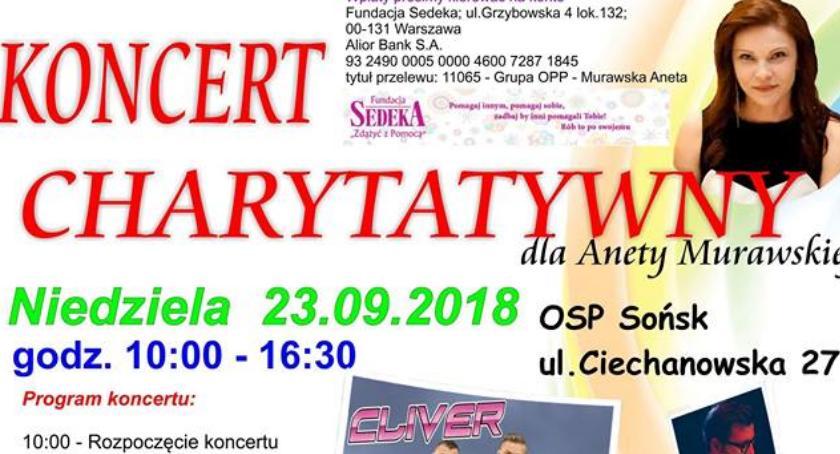 Koncerty, Zagrają Anety Sońsku odbędzie koncert charytatywny - zdjęcie, fotografia