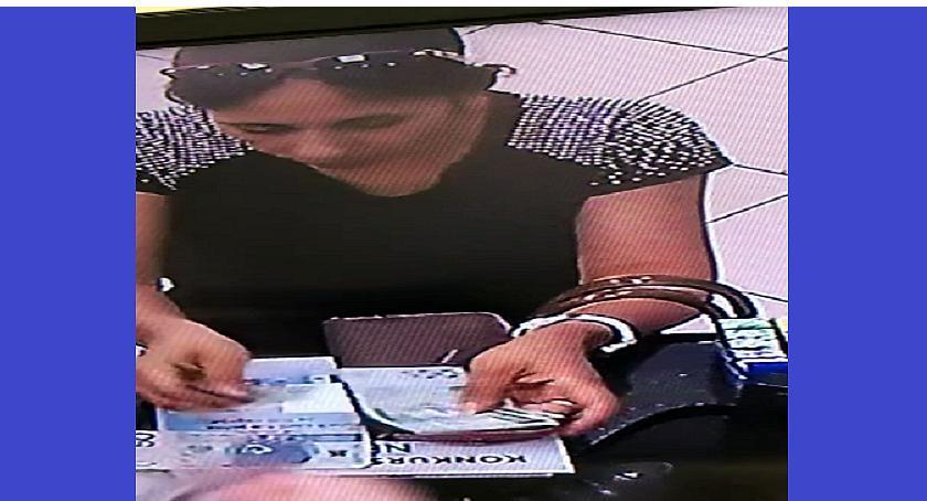 Poszukiwani/Zaginieni, Ukradła pieniądze aptece Poszukuje policja - zdjęcie, fotografia
