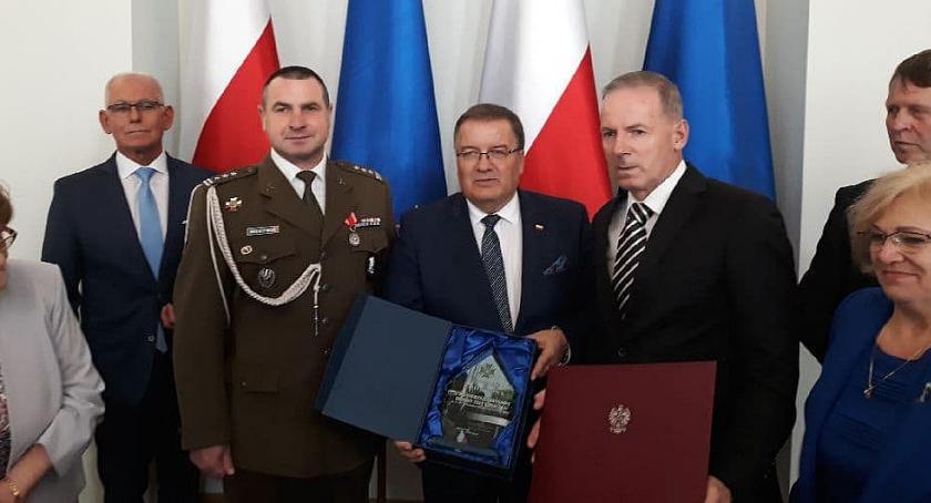 Wojsko, Ciechanowscy Terytorialsi pierwszy obchodzili swoje święto - zdjęcie, fotografia