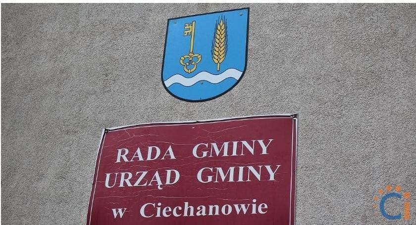 Wybory, Kandydaci wójta radnych gminie Ciechanów - zdjęcie, fotografia