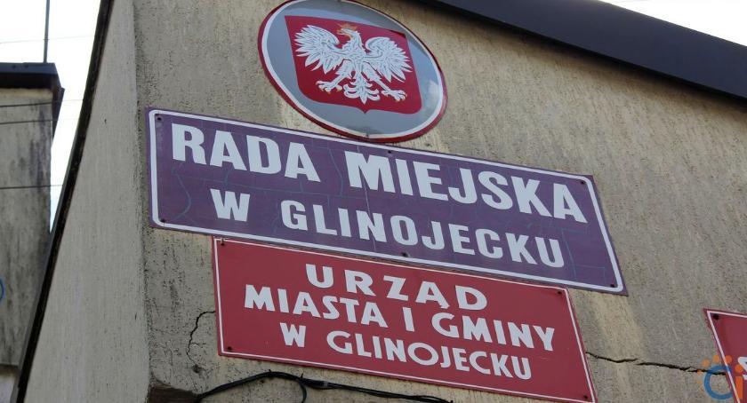 Wybory, Kandydaci burmistrza radnych gminie Glinojeck - zdjęcie, fotografia