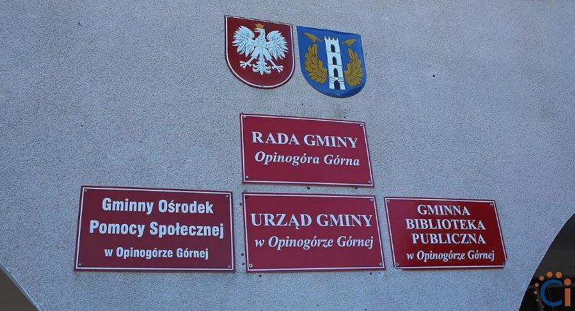 Wybory, Kandydaci wójta radnych gminie Opinogóra Górna - zdjęcie, fotografia