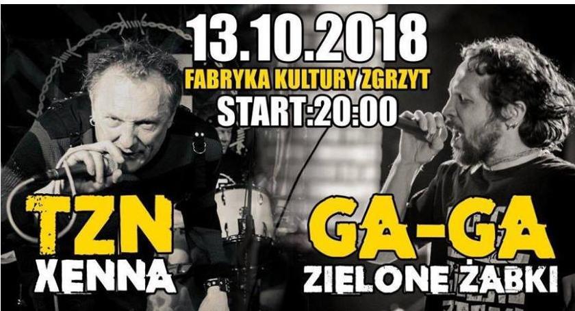 Koncerty, Xenna Zielone Zabki Zgrzycie - zdjęcie, fotografia