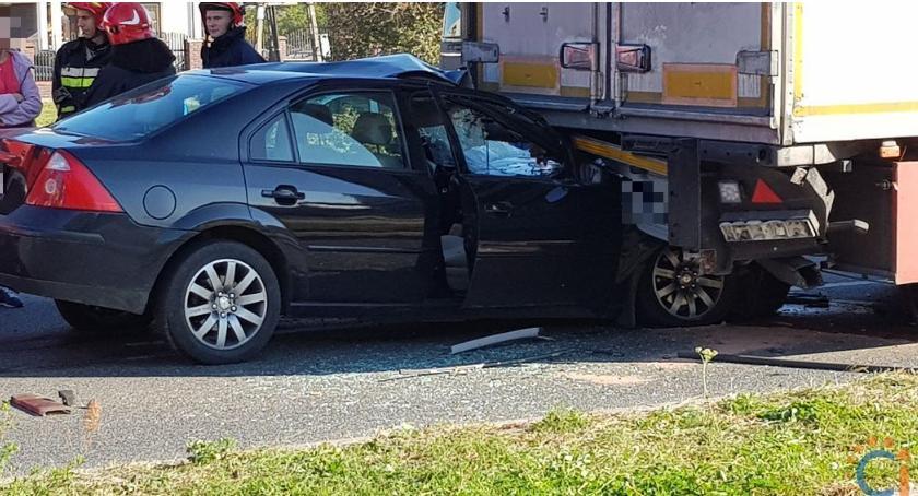 Wypadki drogowe, AKTUALIZACJA Wypadek duży korek Armii Krajowej [zdjęcia] - zdjęcie, fotografia