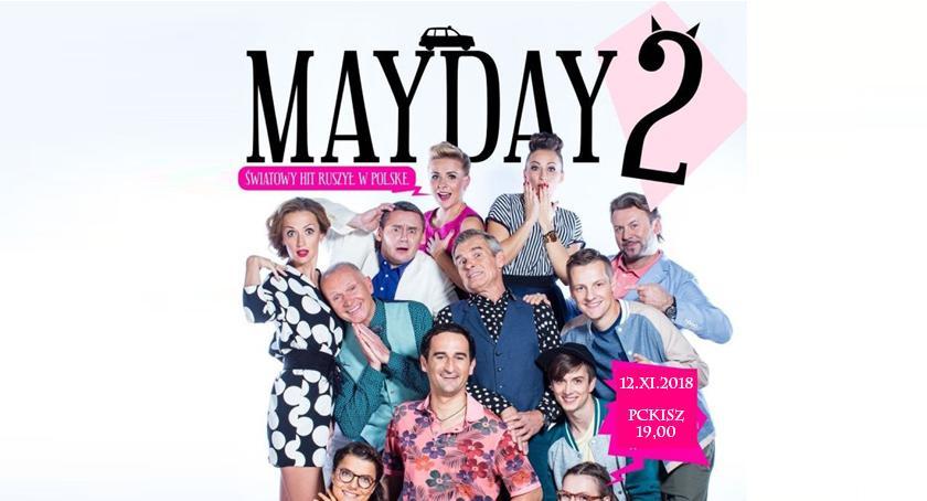 Teatr, Mayday światowy Ciechanowie! - zdjęcie, fotografia