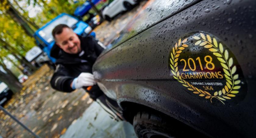 Motoryzacja, Załoga Ciechanowa Rajdowymi Mistrzami Dolnego Śląska! - zdjęcie, fotografia