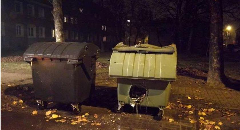 Pożary, Pożary powiecie ciechanowskim Płonęły sadze śmietniki - zdjęcie, fotografia
